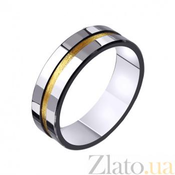 Золотое обручальное кольцо Законы любви TRF--4411454