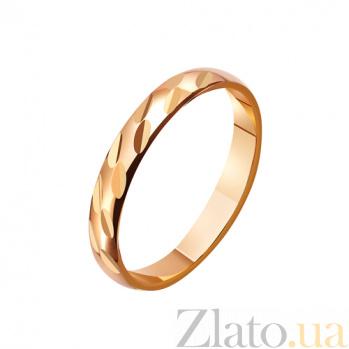 Золотое обручальное кольцо Звезда Моей Галактики TRF--4111184