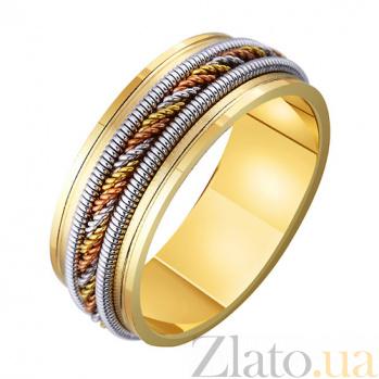 Золотое обручальное кольцо Безумная страсть TRF--4711737