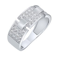 Серебряное кольцо Кристиана