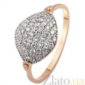Золотое кольцо с бриллиантами Эпатаж KBL--К1895/крас/брил