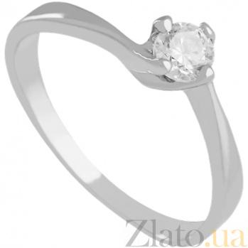 Золотое кольцо с фианитом Divine 000024335