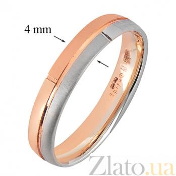 Золотое обручальное кольцо Классическая пара    TRF--4411521