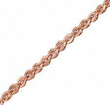 Золотой браслет Виланис в фантазийном плетении