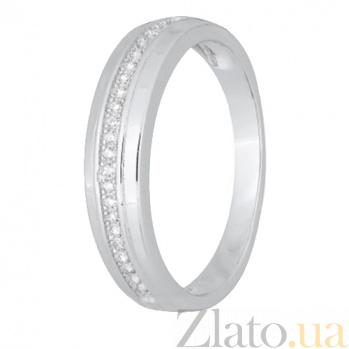 Кольцо из серебра Элли с фианитами 000028275