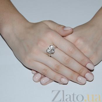Серебряное кольцо с фианитами Герда HUF--14672-Р