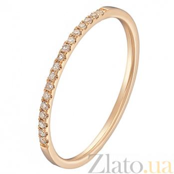 Золотое кольцо Сия в красном цвете с бриллиантами 000043299
