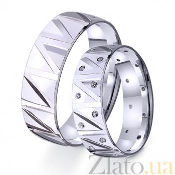 Золотое обручальное кольцо My sweet life TRF--4211077