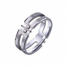 Золотое обручальное кольцо Счастье без границ