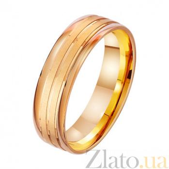 Обручальное кольцо из красного золота Любимой женщине TRF--411872