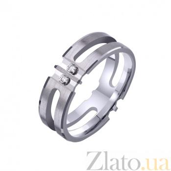 Золотое обручальное кольцо Счастье без границ TRF--422685