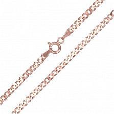 Серебряная цепочка Арес с позолотой
