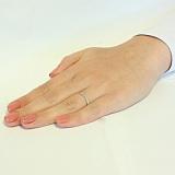 Кольцо из белого золота Мюриел