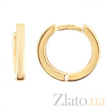 Серьги из жёлтого золота История успеха SVA--2001426103/Без вставки