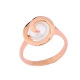 Золотое кольцо с жемчугом Кейси