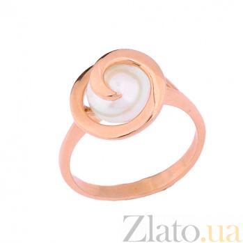 Золотое кольцо с жемчугом Кейси ONX--к02337
