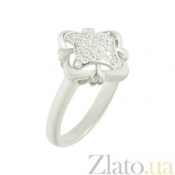 Серебряное кольцо с фианитами Аврора 3К543-0044