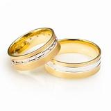 Золотое обручальное кольцо Бесконечная элегантность