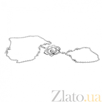 Серебряный браслет с бриллиантами Surrey ZMX--BCD-6822-Ag_K