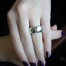 Серебряное кольцо с бриллиантами Space