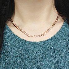 Золотая цепочка Торн панцирного плетения с алмазной гранью и насечкой на стыке звеньев, 5мм