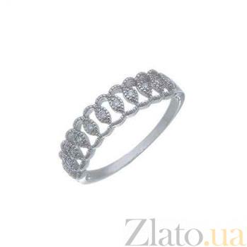 Серебряное ажурное декоративное кольцо AQA--XJR-0130