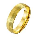 Золотое обручальное кольцо Вечное сияние