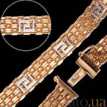 Золотой браслет Дабл LEL--39633