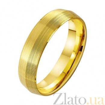 Золотое обручальное кольцо Вечное сияние TRF--431866
