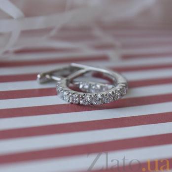 Серебряные серьги Мирта HUF--2269-Р