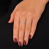 Золотое кольцо с бриллиантами Дорога к счастью