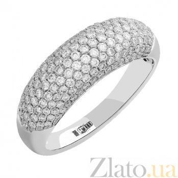 Золотое кольцо с бриллиантами Хлоя 1К441-0007