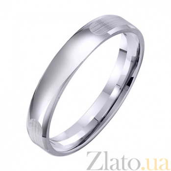 Золотое обручальное кольцо Постоянство TRF--421759