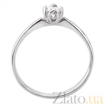 Золотое кольцо с бриллиантом  Марианна R0696