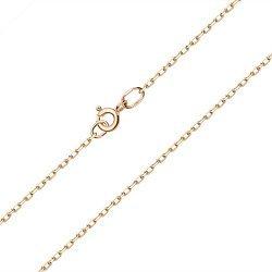 Цепочка из желтого золота в якорном плетении, 1,5мм 000122225