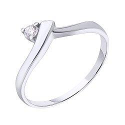 Золотое кольцо с бриллиантом Виталина