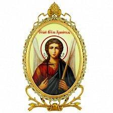 Серебряная икона Ангел Хранитель