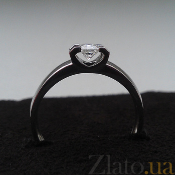 Кольцо из белого золота Деметра с бриллиантом KBL--К1149/бел/брил