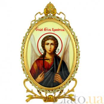 Серебряная икона Ангел Хранитель 2.78.0339