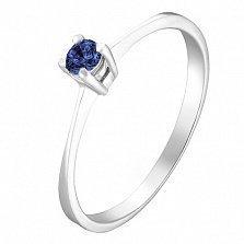 Золотое кольцо Ионита с сапфиром