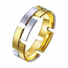 Золотое обручальное кольцо Энергия души