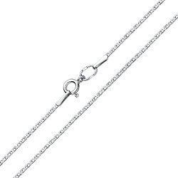 Серебряная цепочка Жульена в плетении валентино