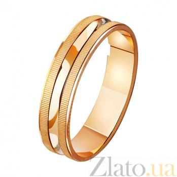 Золотое обручальное кольцо На крыльях любви TRF--411047