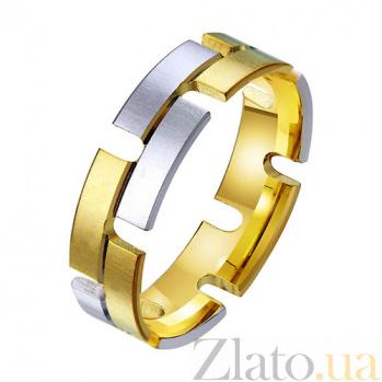 Золотое обручальное кольцо Энергия души TRF--431363