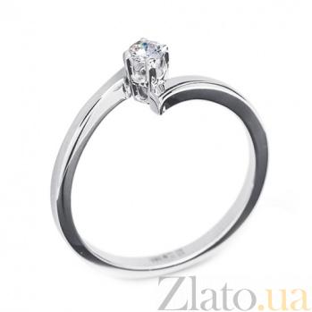 Золотое кольцо с бриллиантом Лоллия R0558