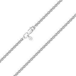 Серебряная цепочка в плетении ролло 2 мм 000122945