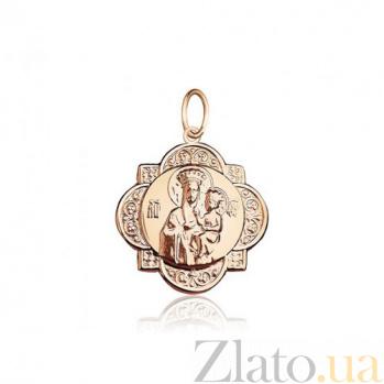 Золотая ладанка Тамбовская Божья Матерь EDM--П057
