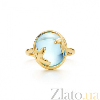 Кольцо из желтого золота с топазом Paloma Picasso R-Tif(Paloma)-E-top
