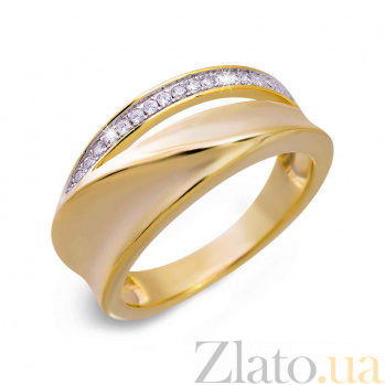 Кольцо женское с позолотой Жани AQA--XJR-0019-gl