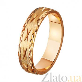 Золотое обручальное кольцо Только для тебя TRF--411057